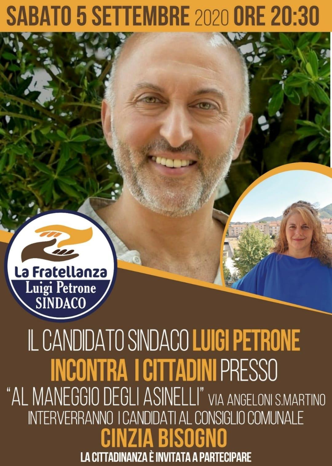 INCONTRO CON GLI ABITANTI DELLA FRAZIONE SAN MARTINO SABATO 05/09/2020