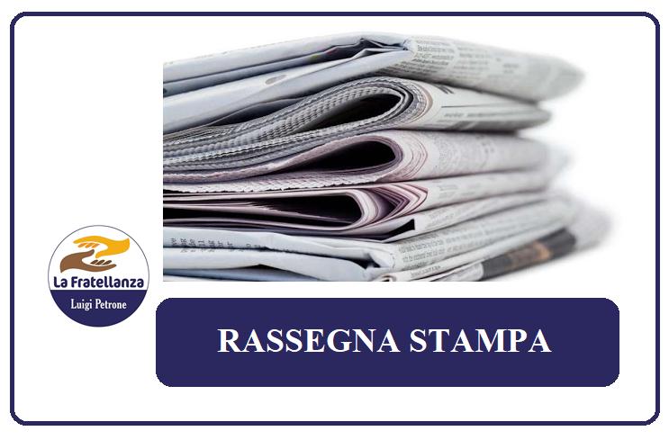 RASSEGNA STAMPA del 04/11/2020